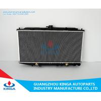 Wholesale Aluminum Honda Radiator Fits CIVIC / CRX ' 88-91 EF2.3 OEM 19010-PM3-901/902 from china suppliers