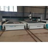 Buy cheap competitive price 3000*5000mm water jet cutting machine with 420mpa pump and movable loader from wholesalers