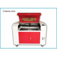 Wholesale Wood Fabric Acrylic Leather MDF Plywood 6090 80w CO2 laser cutting machine from china suppliers
