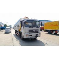Buy cheap dongfeng tianjin 4*2 6ton truck mounted crane from wholesalers