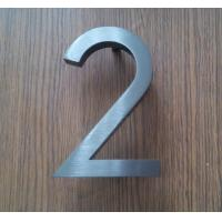 Wholesale 3D Sign Letter stainless steel house Street Number custom H20CM number gold 3d sae signs from china suppliers