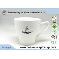 Wholesale 11oz 320ml Porcelain Milk Beverage V Shaped Mug , Color Changing Photo Mug from china suppliers