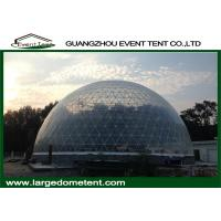 Wholesale 20m Diameters Round Geodesic Dome Tents With Clear PVC Fabric from china suppliers