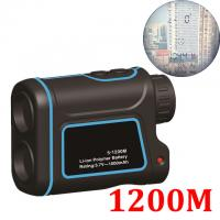 Wholesale 1200mtelescope laser distance meter range finder rangefinder hunting Golf monocular  trena laser tape measure Diastimete from china suppliers