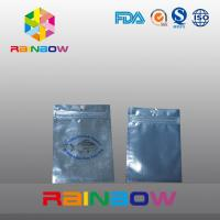 Wholesale Front Transparent Back Foil Pet Food Pouch With Zipper , Fishing Bait Bag from china suppliers
