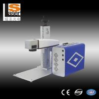 Wholesale Stainless Steel Air Cooling Fiber Laser Marking Machine 220V / 50Hz / 5A-10A from china suppliers