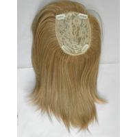 Wholesale Dark Blonde Toupee Hair Piece High Temperature Fiber For Men from china suppliers