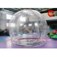 Wholesale PVC Outdoor Nature Bubble Room Customized Clear Inflatable Tent With Blower from china suppliers