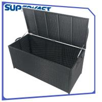 Wholesale SGS Resin Wicker Patio Furniture Poly Rattan Storage Box and Vertical Type from china suppliers