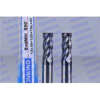 Wholesale AlTiN Coating Carbide Roughing End Mills 4 Flute 25 mm Cuttting Length from china suppliers