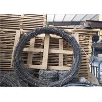 Quality Galvanized Spiral Barbed Wire military Fence 12.5# Barbed Wire used on Home or border for sale