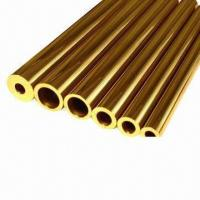 Wholesale Brass Tubes for Bed and for Ornament, Thickness of 0.5 to 3.5mm, Length from 1 to 14m from china suppliers