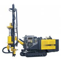 Wholesale Multi - function integrated crawler drilling rig machine , 36m Depth 135 - 190mm Diameter from china suppliers