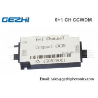 Wholesale Compact CWDM 6+1CH CWDM Mux Demux Fiber Optical Multiplexer Module from china suppliers