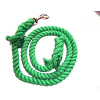 Wholesale cotton horse leading rope ,Lead Rope for Horse green color from china suppliers