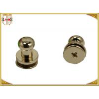 Wholesale Custom Metal Hardware For Bags / Handbags , Leather Purse Handles And Hardware from china suppliers