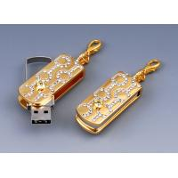 Wholesale Jewelry Gift Usb 2.0 Flash Drives in Metal & Crystal wiht 512M,1G, 2G, 4G from china suppliers