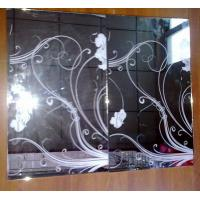 Wholesale Decorative mirror screen printing mirror glass mirror silkprint mirror from china suppliers