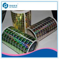 Custom 2D / 3D Holographic Sticker , Die Cut Self Adhesive Hologram Sticker