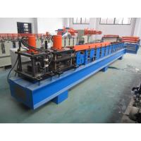 Wholesale PLC Glazed Tile Roll Forming Machine Hydraulic Press 5.5KW 1.2 Inch Single Chain from china suppliers