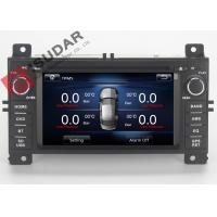 Wholesale Jeep Grand Cherokee Dvd Player , Double Din Car Stereo With Gps And Bluetooth from china suppliers