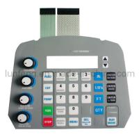 Wholesale Digital Dome tactile membrane switch from china suppliers