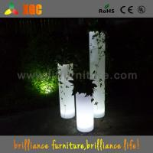 Wholesale Starlish brand furniture,decoration led illuminated flower pot,led vase lighted from china suppliers