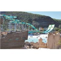 Buy cheap Outdoor Adults Swimming Pool Water Park Slides For Water Playground Equipment from wholesalers