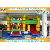 Wholesale Commercial Funny Large Inflatable Games Crocodile Bouncy Castle from china suppliers