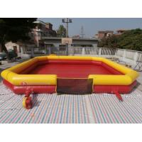 Wholesale Inflatable Bumper Ball Court , Bumper Ball Field With Commerical Grade PVC Tarpaulin from china suppliers