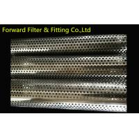 Wholesale Stainless Steel Perforated Metal Tube For Core Purolator Suction Strainers , Filter Support from china suppliers