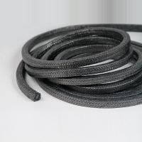 Wholesale Black Braided Gland Packing , Graphited Carbonized Fiber Packing from china suppliers