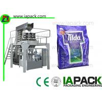 Quality Granule Flat Bottom Bag Premade Pouch Packaging Machine Given Bag Packing Machine With Multi-head Scale for sale