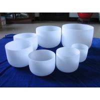 Wholesale Frosted crystal singing bowl wholesale price from china suppliers