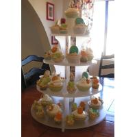 Wholesale Custom High-quality Acrylic Cupcake Display from china suppliers