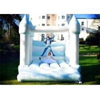 Wholesale White And Blue Color Inflatable Bouncer , Wedding Inflatable Bouncer For Sale from china suppliers