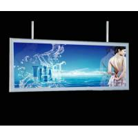 Wholesale Large Slim LED Aluminum Frame Light Box / Lighted Poster Frames Top Hanging from china suppliers