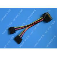 Wholesale SATA To Dual SATA Data Cable Splitter SSD HDD SATA Cable For Hard Drive from china suppliers