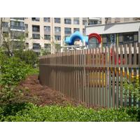Wholesale Engineered Outside WPC Fence Panels For Garden And Corridor Eco Friendly from china suppliers