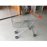 Wholesale Zinc Plated clear coating Steel UK Shopping Cart 100L / Low Carbon from china suppliers