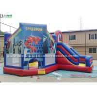 Wholesale Funny Spiderman Inflatable Jumping Castles from china suppliers