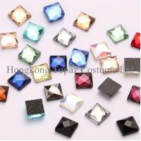 Wholesale hot fix square rhinestone DMC quality crystal sheet loose stones for iron on from china suppliers