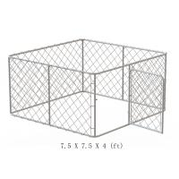 Wholesale chain wire fence dog kennel from china suppliers