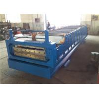Wholesale Automatic Plate Double Layer Tile Forming Machine With Roll Forming Device from china suppliers
