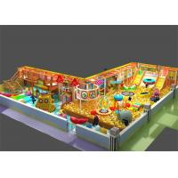 Wholesale Inflatable Indoor Ball Pool Playground with Slide Trampoline Obstacle Course for Children from china suppliers