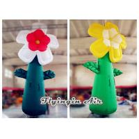 Wholesale 5m Giant Multicolor Inflatable Flower for Event and Shop Decoration from china suppliers