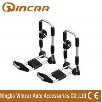 Wholesale Angle Adjustable Aluminum Folding J Style Kayak Roof Carrier , canoe rack from china suppliers