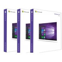 Wholesale SAMPLE FREE Windows 10 Pro Retail Box 64 Bit , Windows 10 Product Key For Microsoft Office 2010 from china suppliers