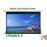 Wholesale High Contrast Projector Tab - Tension Screen 110 Inch With Wireless Control from china suppliers