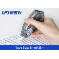 Quality Grey Colored Correction Tape Student Stationery PS Titanium dioxide Material for sale